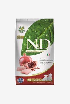 Farmina N&D Ancestral Grain Chicken & Pomegranate Recipe Mini Puppy Dry Dog Food 5LB Bag