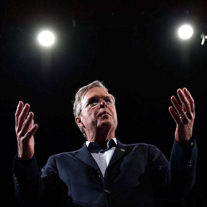 Jeb Bush Addresses LIBRE Initiative Forum In Nevada