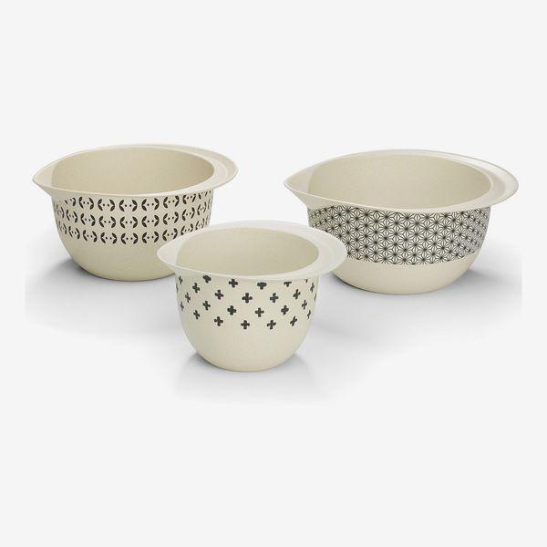 Cuisinart Bamboo Fiber Mixing Bowls, Set of 3