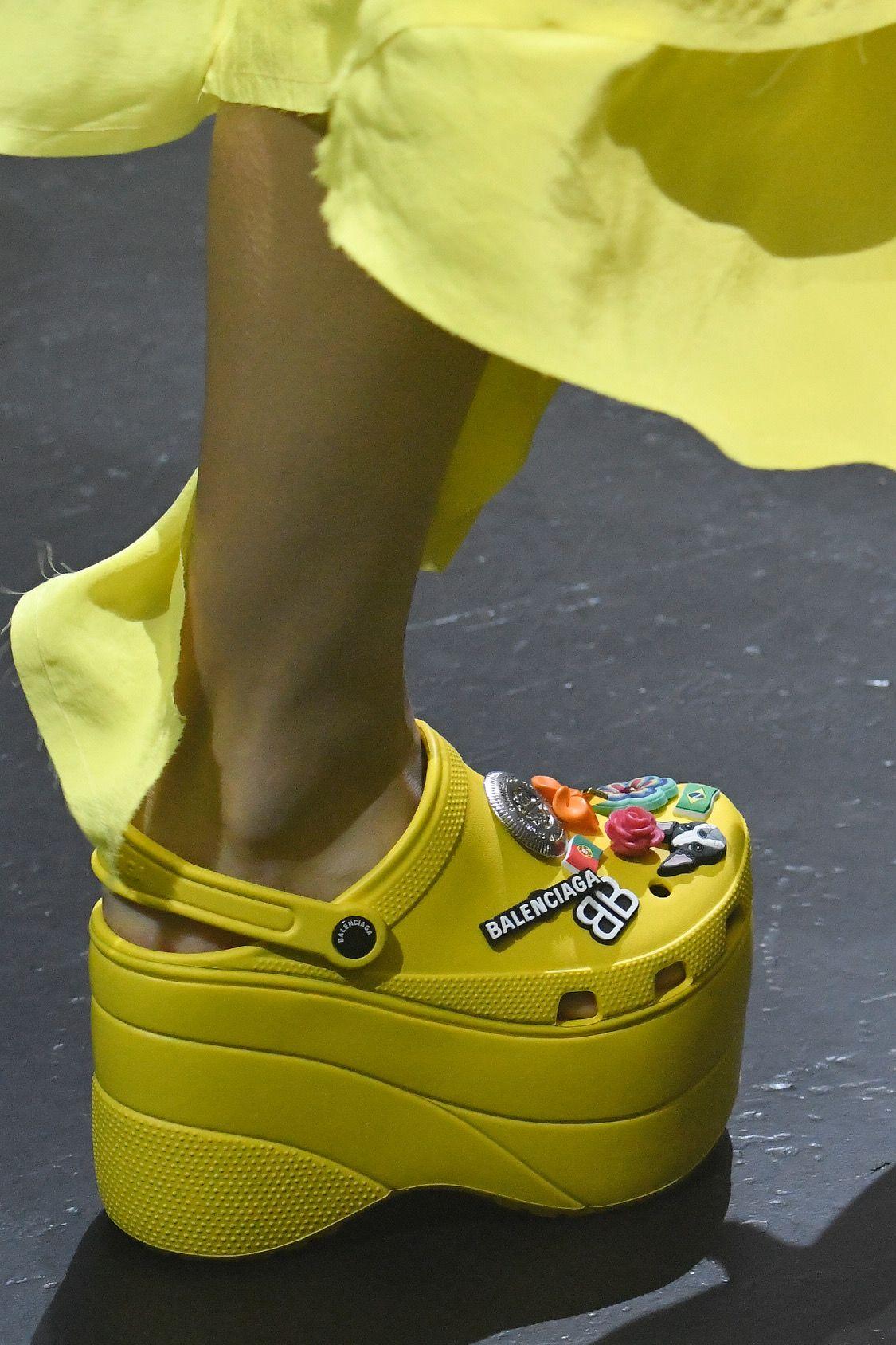 Balenciaga Introduces Platform Crocs