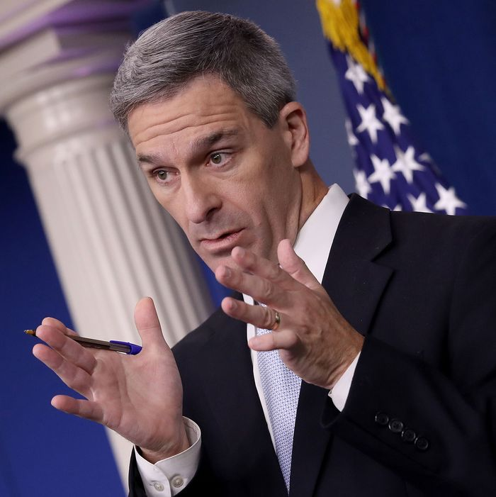 Ken Cuccinelli, acting Director of the U.S. Citizenship and Immigration Services.