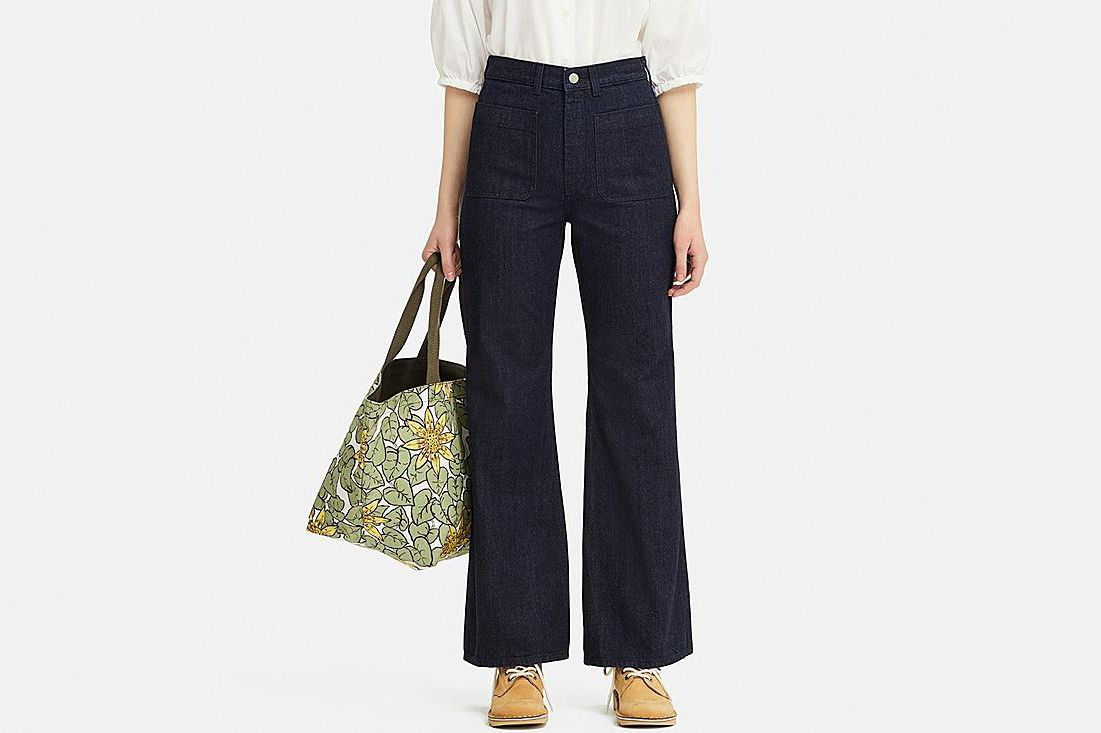 Women Bell Bottoms Jeans