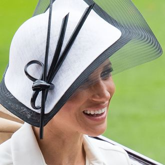 Meghan Markle at Royal Ascot.