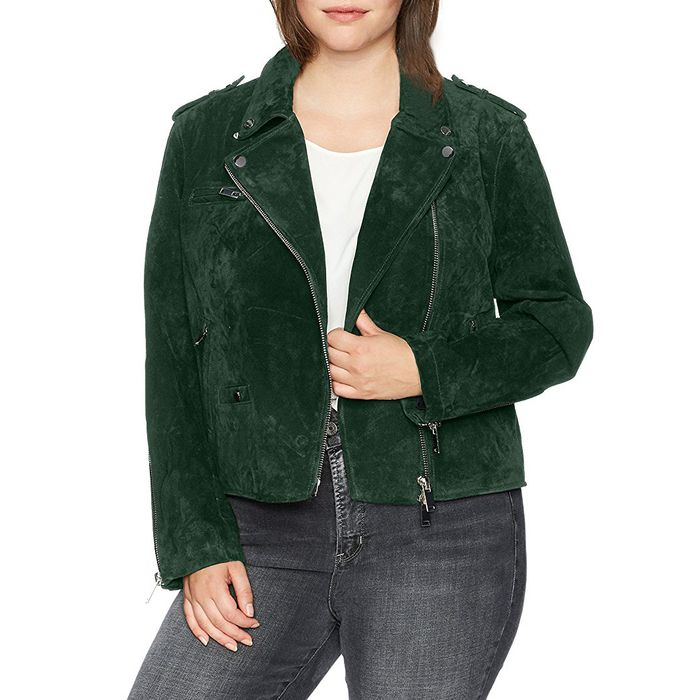 092e9667fc5 Finding a good plus-size moto jacket has been a challenge in the past.  Despite how trendy it is