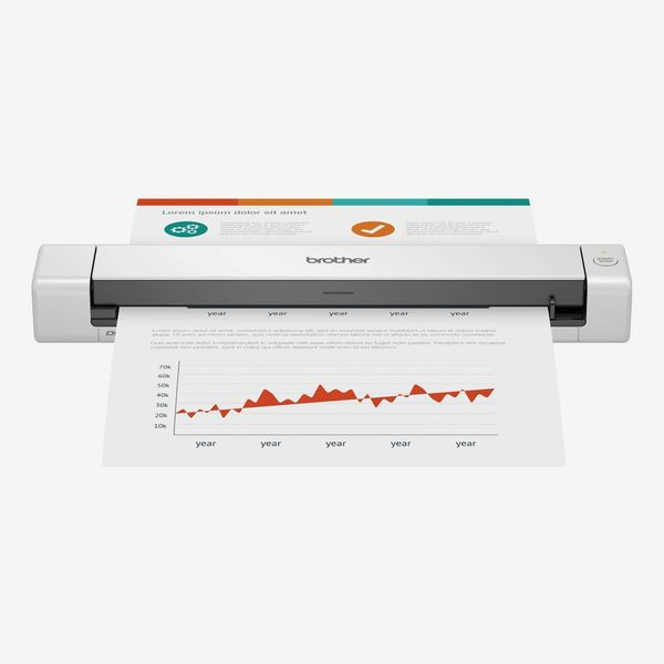 Brother DS-640 Compact Mobile Document Scanner