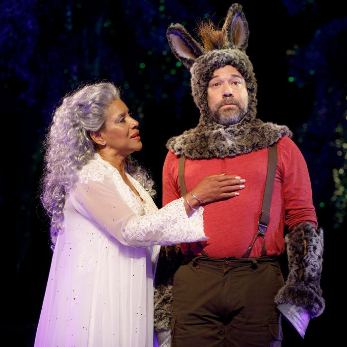 Theater Review A Midsummer Nights Dream That Never Touches Earth