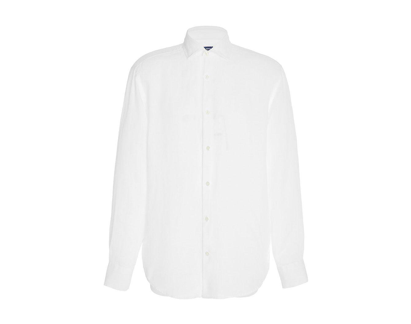 Frescobol Carioca Slim-Fit Linen Button-Up Shirt