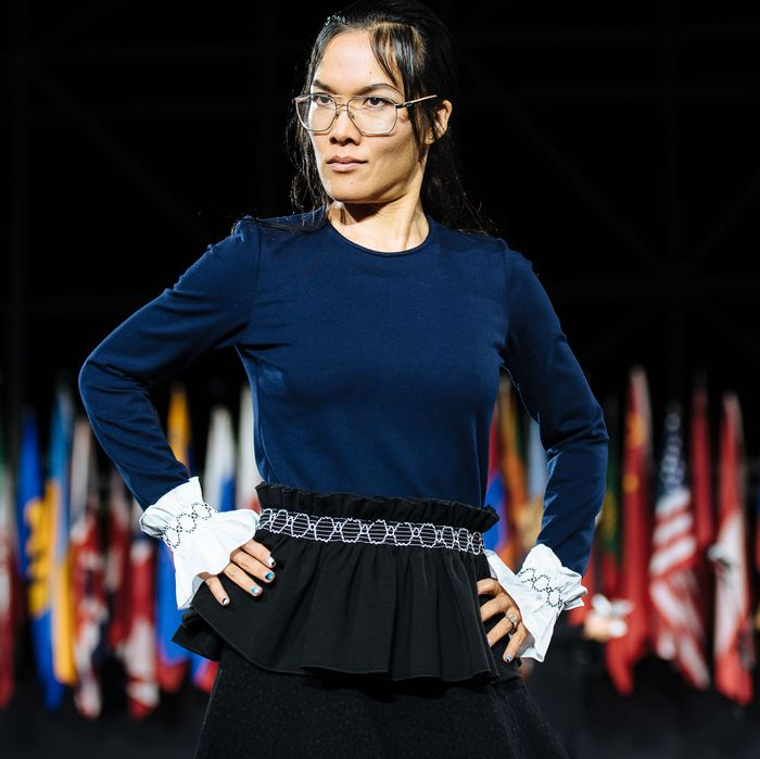 fb3e5f3bd05d Ali Wong Gets Real About Work/Life Balance at Opening Ceremony
