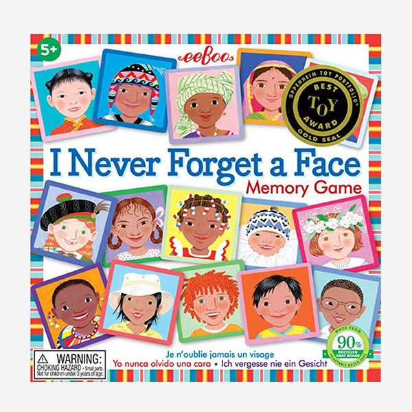 Never Forget a Face Memory Matching Game