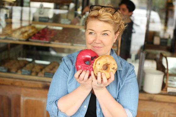 """Then, of course, we went over to <a href=""http://nymag.com/listings/stores/dough/"">Dough</a> and had doughnuts."""