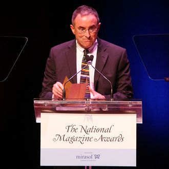 Writer Michael Kinsley presents the Magazine of the Year award at the 45th Annual National Magazine Awards at Alice Tully Hall, Lincoln Center on April 22, 2010 in New York City.