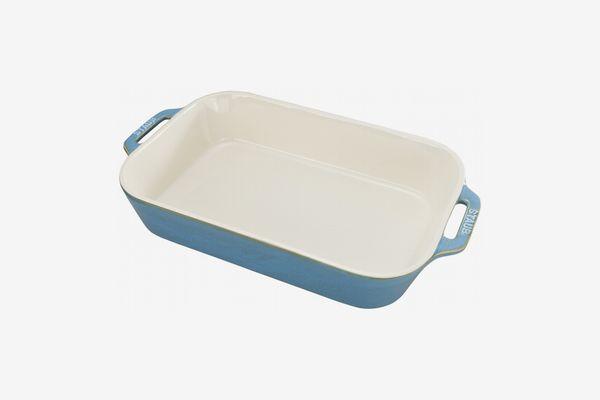 Staub Rustic Ceramic Bakers, Turquoise
