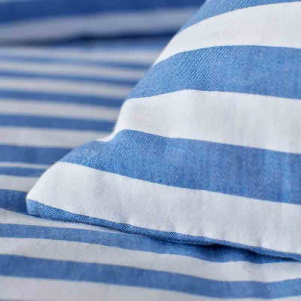 Sophie Stripe Dazzling Blue Bed Linen