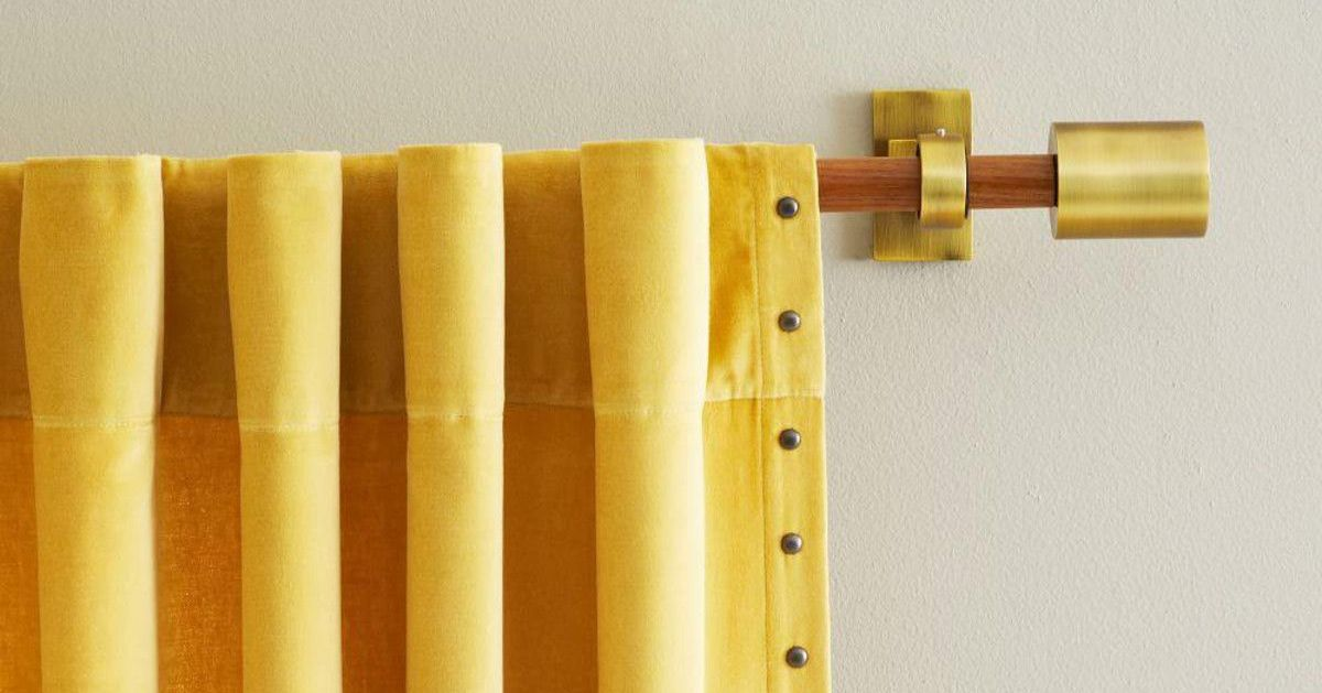 The Best Curtain Rods, According to Interior Designers