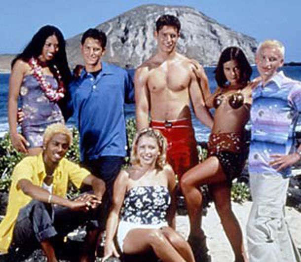 19990514 - Real World Hawaii cast. Press release photo.