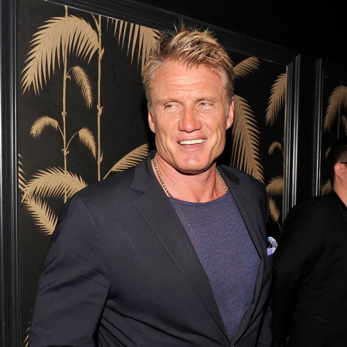 Dolph Lundgren attends Girard-Perregaux And The Cinema Society With DeLeon Host a Screening Of Sony Pictures Classics'