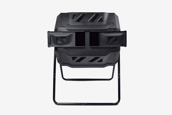 EJWOX Composting Tumbler - Dual Rotating Outdoor Garden Compost Bin