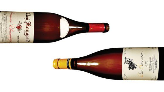 2009 Clos Rougeard, Saumur-Champigny 'Les Poyeux' from Reynard (left); Contra's 'Els Bassotets' Conca de Barberà 2013