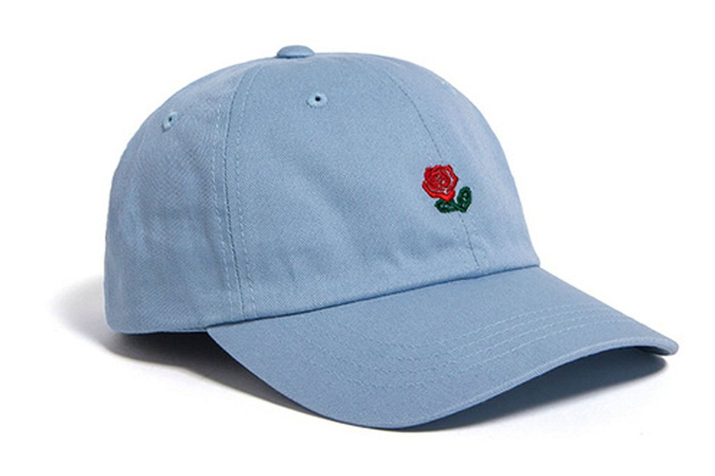 FGSS Unisex Rose Embroidered Adjustable Strapback