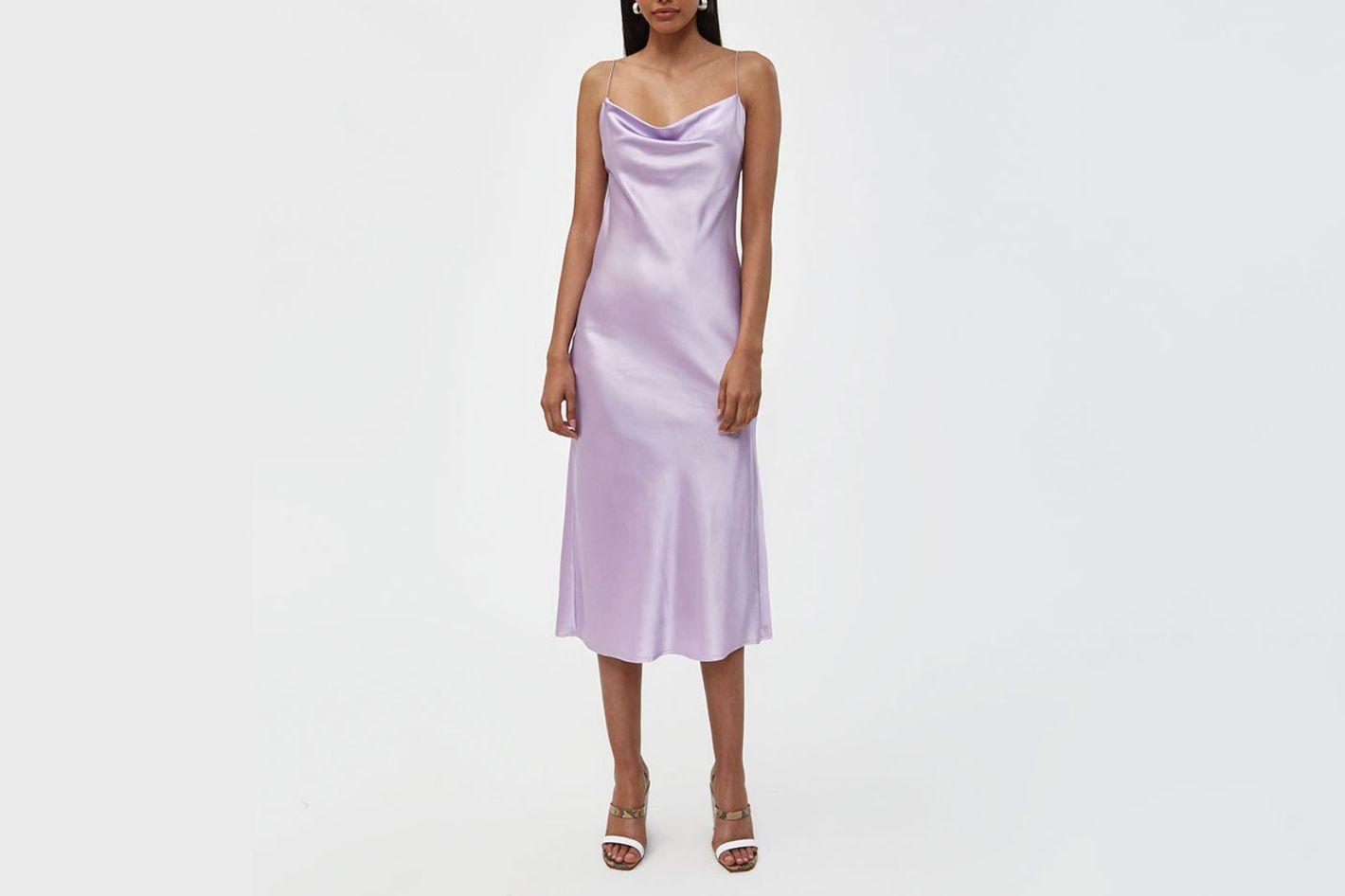 Stelen Della Slip Dress in Lilac