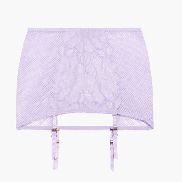 Savage X Fenty Glow Backless Garter Skirt