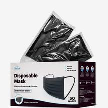 WeCare Individually Wrapped Disposable Face Masks