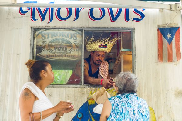 The No-Frills Food Truck That Serves Some of NYC's Most Soulful Puerto Rican Pork