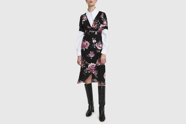 Stelen Shanna Floral Print Wrap Dress