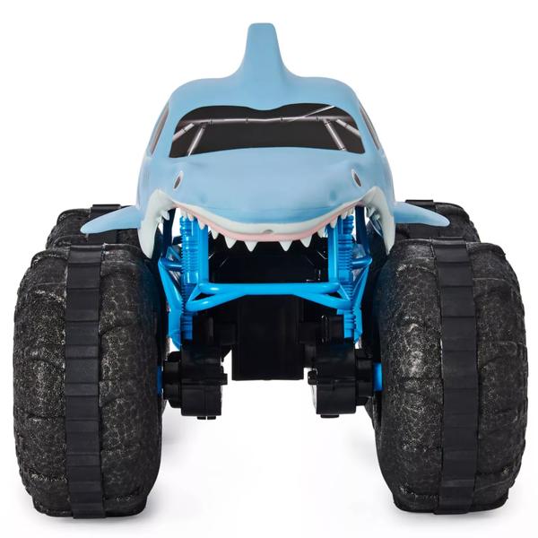Monster Jam Official Megalodon Storm All-Terrain Remote Control Monster Truck