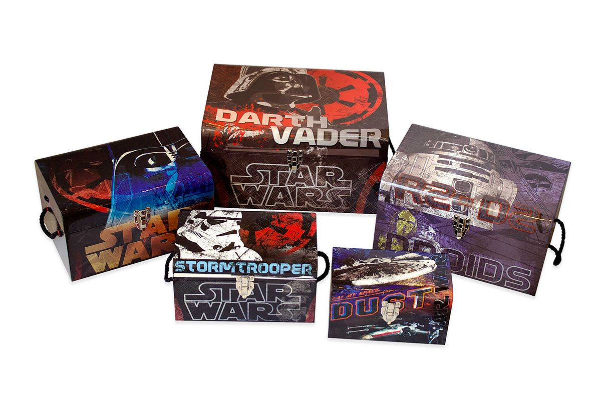 Star Wars 5-Piece Flat Top Trunk Set