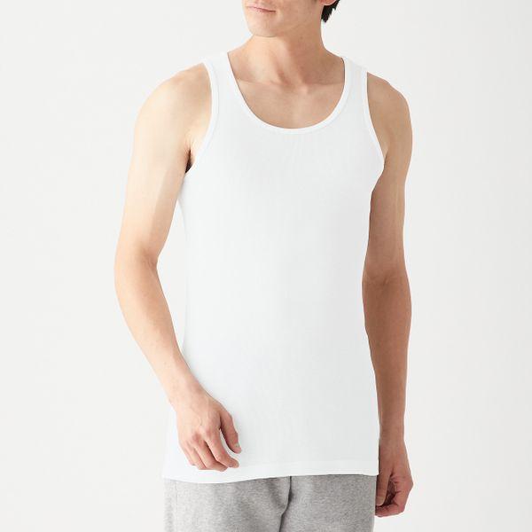 Muji Breathable Cotton Tank Top