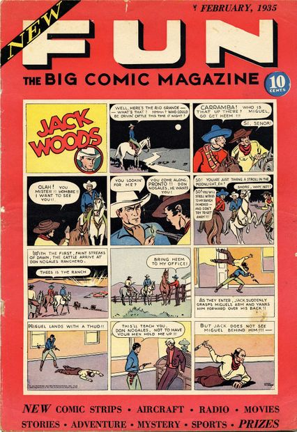 New Fun The Big Comic Magazine No 1 1934