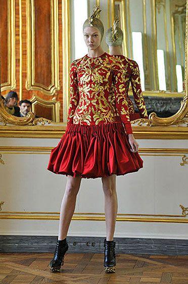 35cb884bb7d7 Alexander McQueen s Final Collection Walks in Paris -- The Cut