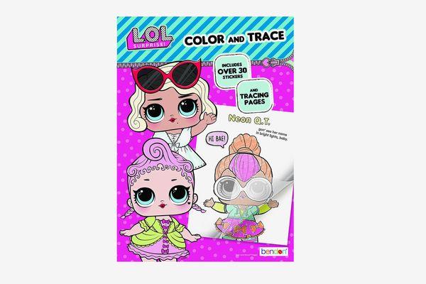 L.O.L. Surprise! Bendon Color & Trace Book