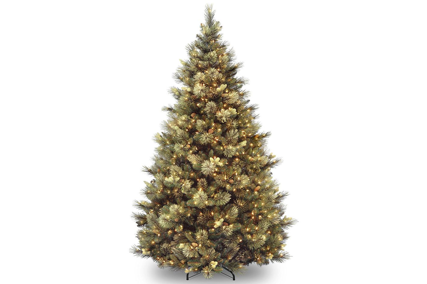 National Tree 7.5 Foot Carolina Pine Tree With 750 Clear Lights