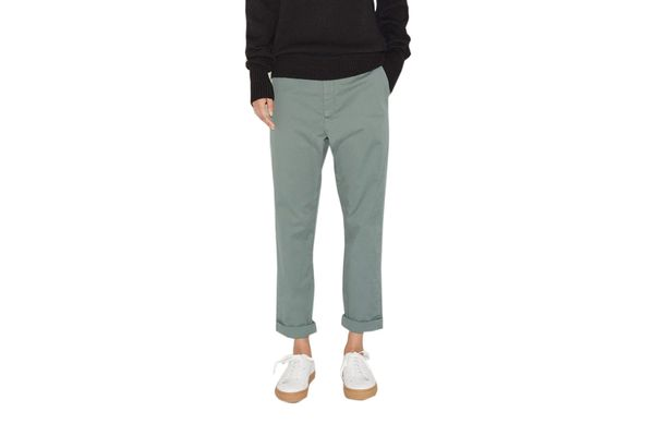Hope News Trouser in Teal Green