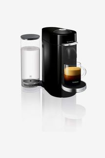 Nespresso Vertuo Plus Coffee Machine, Black finish by Magimix