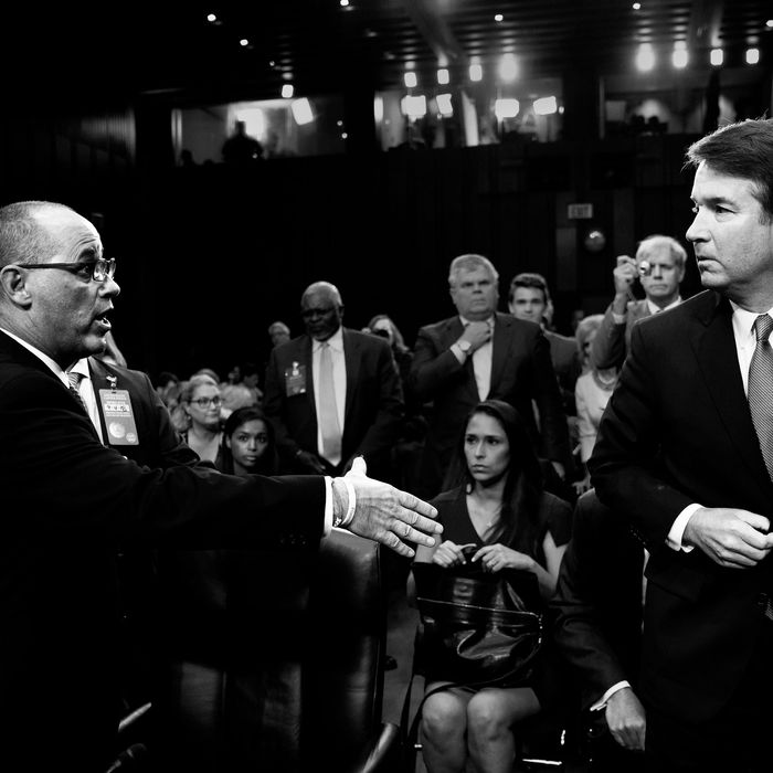 Fred Guttenberg and Brett Kavanaugh.