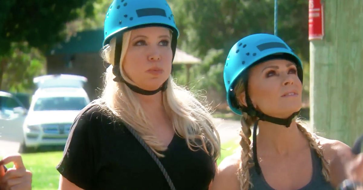Real Housewives Of Orange County Premiere Recap Ropes And