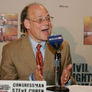 Steve Cohen, U.S. Representative 9th District of Tennessee speaks during the Baseball and the Civil Rights Movement Roundtable Discussion at the National Civil Rights Museum in Memphis, Tennessee on March 30, 2007.