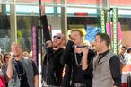 "NEW YORK, NY - JUNE 03:  Singers Brian Littrell, AJ McLean, Nick Carter and Howie Dorough of the Backstreet Boys perform on NBC's ""Today"" at Rockefeller Center on June 3, 2011 in New York City.  (Photo by Jemal Countess/Getty Images)"