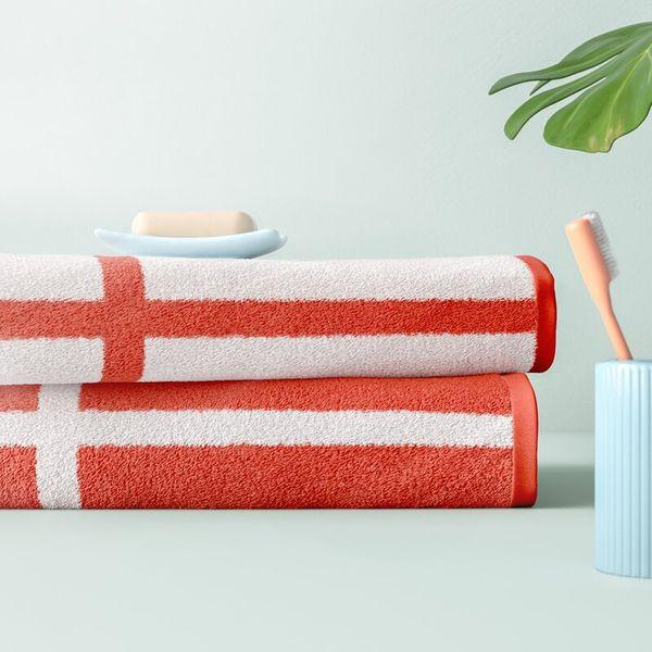 Wesley Reversible 2 Piece 100% Cotton Bath Sheet Set