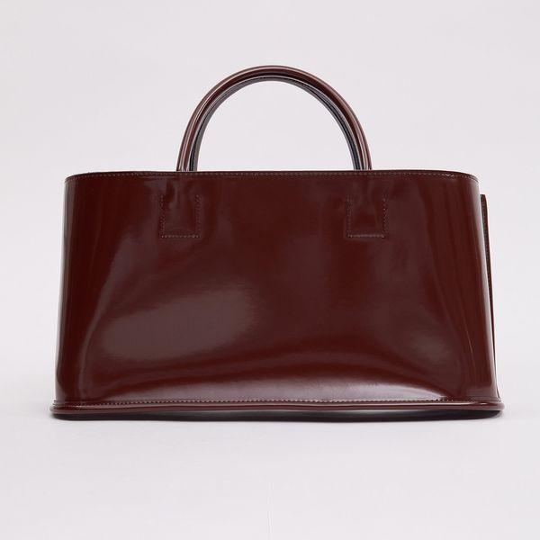 Glossy Patent Rectangular Bag