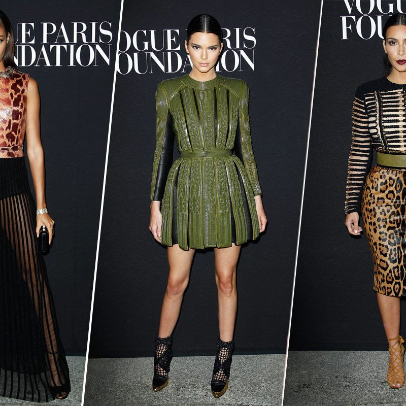 9d45b8134ee Kim and Kendall Stole the Show at the Vogue Foundation Gala