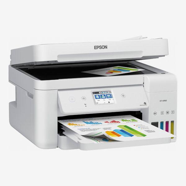 Epson EcoTank ET-4760 Wireless All-In-One Inkjet Printer