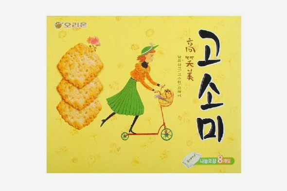 orion gosomi sesame crackers
