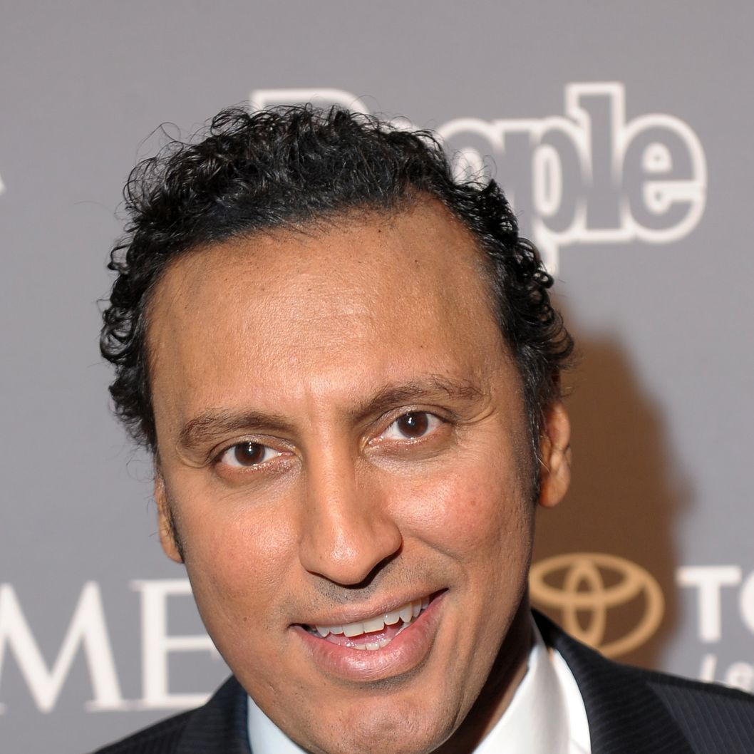 WASHINGTON, DC - APRIL 26:  Aasif Mandvi attends the PEOPLE/TIME Party On The Eve Of The White House Correspondents' Dinner on April 26, 2013 in Washington, DC.  (Photo by Michael Loccisano/Getty Images for Time Inc)