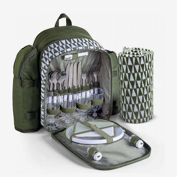 VonShef 4 Person Picnic Backpack