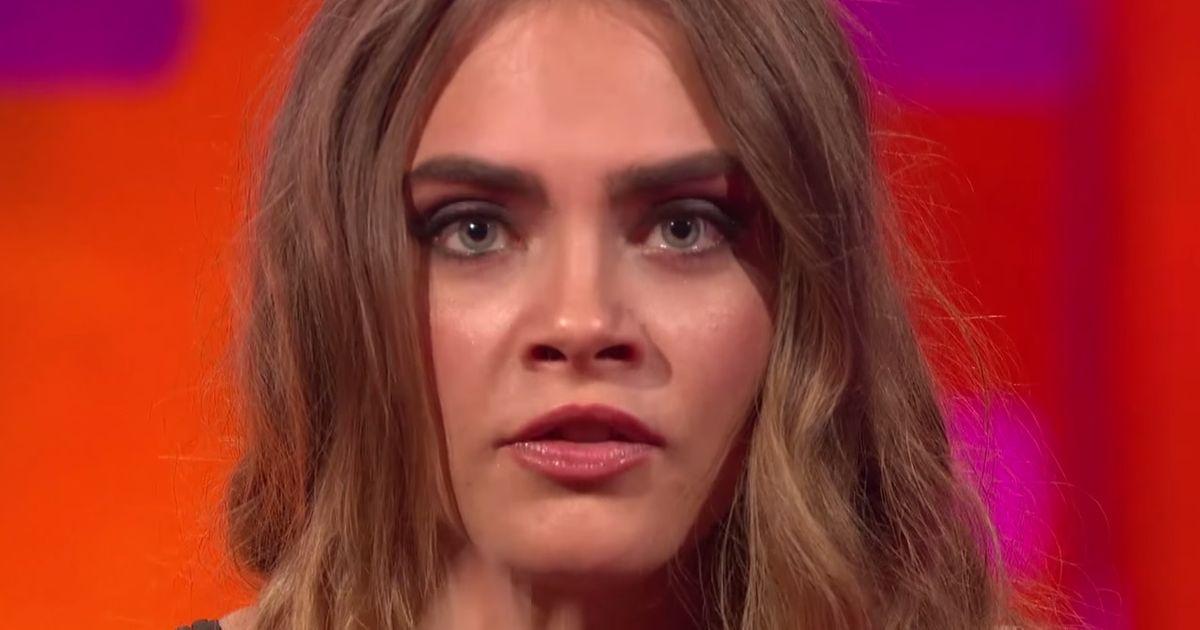 Cara Delevingne Emilia Clarke Flaunt Eyebrows