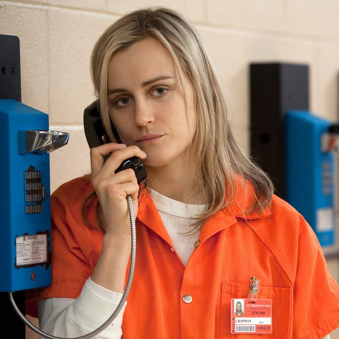 They're not in federal prison like Piper Kerman.